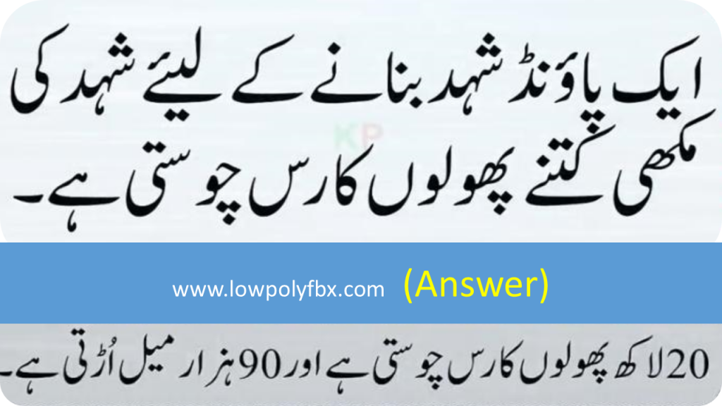 Paheliyan And With Answer General Knowledge Questions In Urdu With Answer Welcome To Lowpoly Fbx
